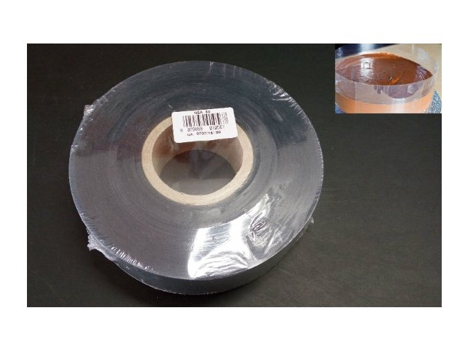 Průhledná páska na zákusky 5cm/305m