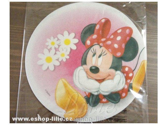 Minnie jedlý papír na dort  72151a