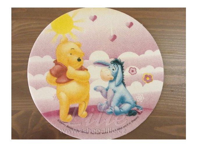 Medvídek Pú 72142a jedlý papír na dort