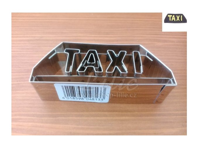 Taxi vykrajovátko na perníčky