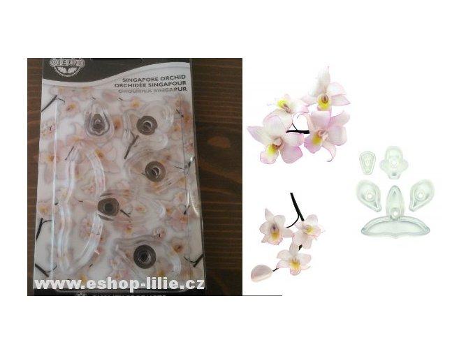 Singapurská orchidej -  vykrajovače JEM (103FF035)