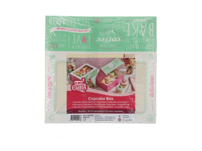 Krabice na muffiny a cupcakes FC1150