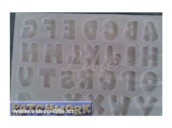 Patchworková abeceda AM170 silikonová forma