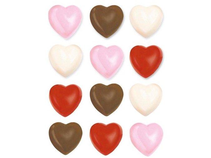 Srdíčka forma na čokoládové bonbony a cukroví Wilton 2115-1712