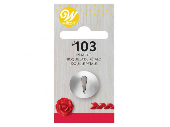 Cukrářská zdobící růžičková špička 418-103 Wilton