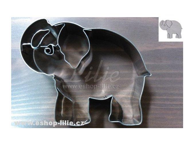 Slon vykrajovátko (184220) na perníčky