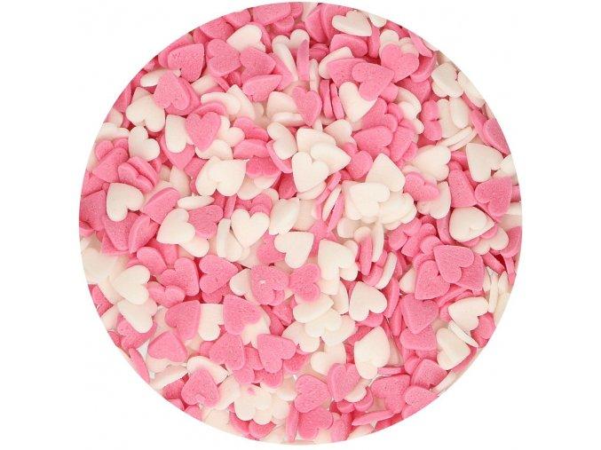 Srdíčka mix - cukrářské zdobení G42415 60g