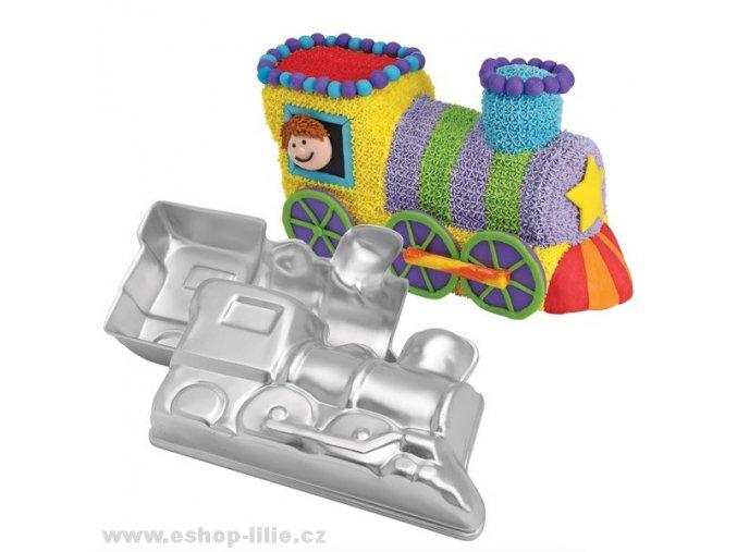 3D Mašinka dortová forma Wilton 2105-2861