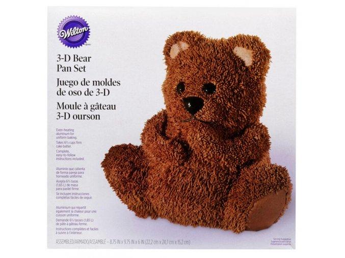 Medvídek dortová forma na pečení Wilton 2105-1193