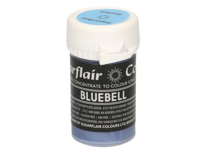 BLUEBELL pastelová gelová barva Sugarflair