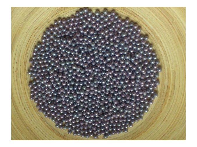 Fialovo-šedé metalické cukrové perličky CRIO3