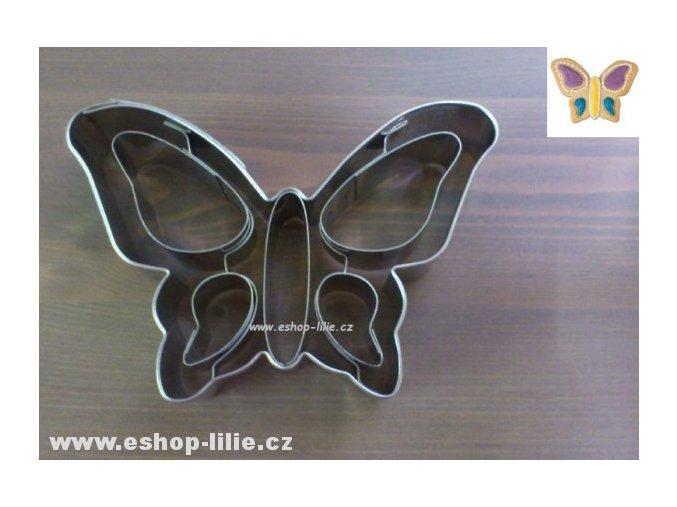 Motýl - nerez vykrajovátko 069138