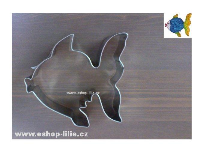 Ryba-velké  nerezové vykrajovátko 064133