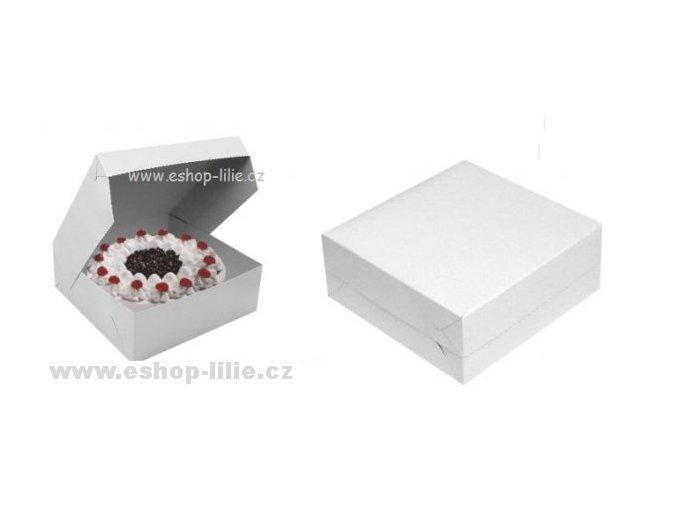 Dortová krabice 28cm x 28cm 5 kusů