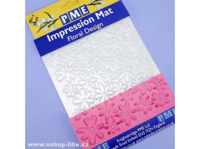 Otiskovací podložka Floral Design PME IM192