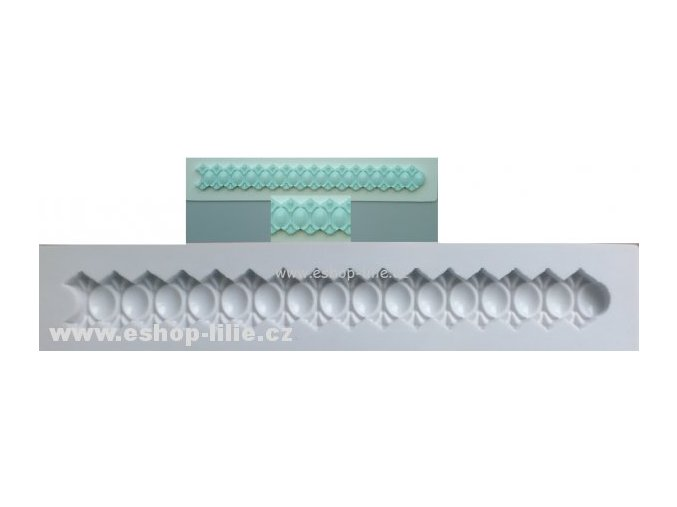 Silikonová formička na borduru  AM0081