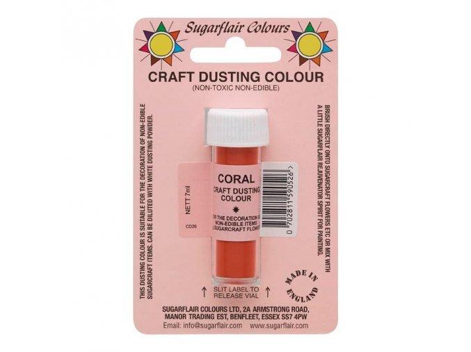 Coral - Korálová  dekorativní barva