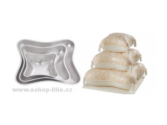 Polštáře -sada dortových forem Wilton 2105-0575
