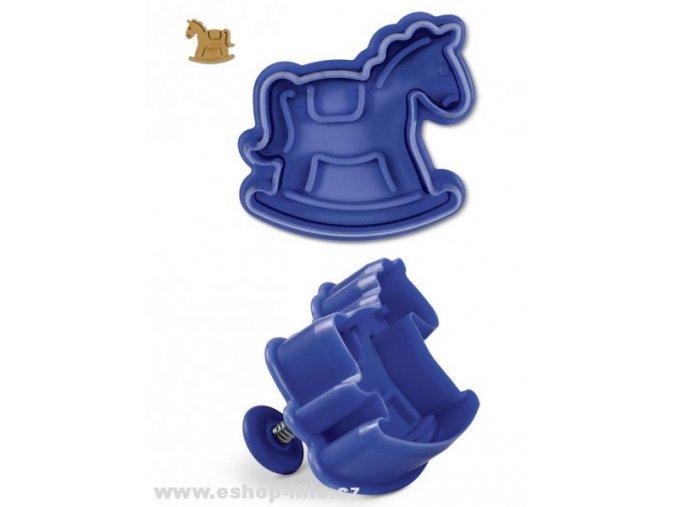Plastový vypichovač houpací koník 170797