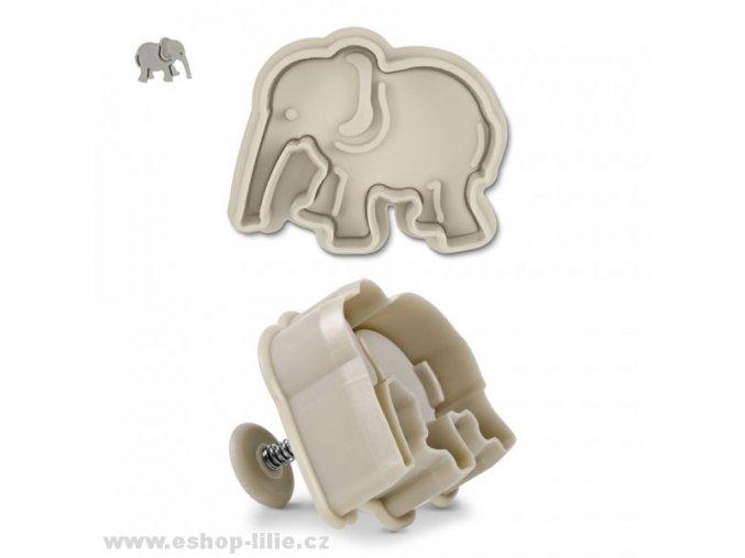 Slon plastový vypichovač 170353
