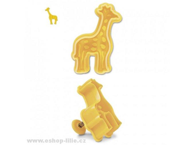 Žirafa - plastový vypichovač 170322
