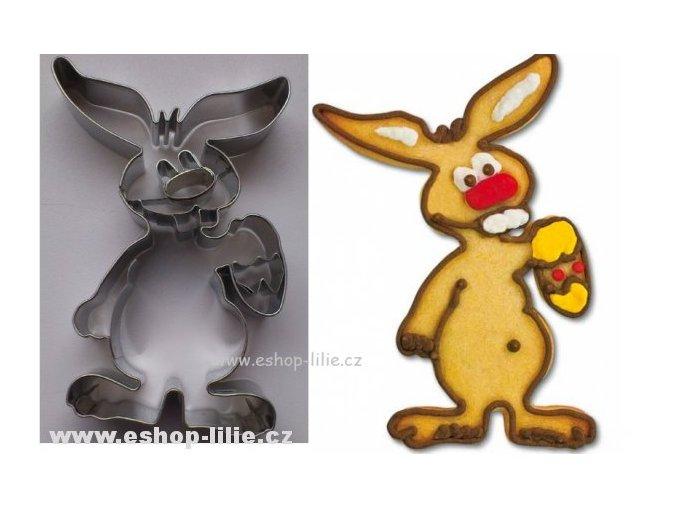 Zajíc a vajíčko  nerez 116047