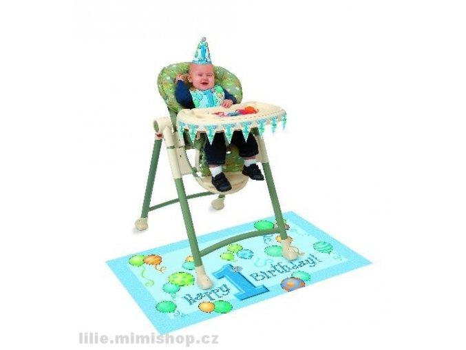 Sada první narozeniny modrá 23967