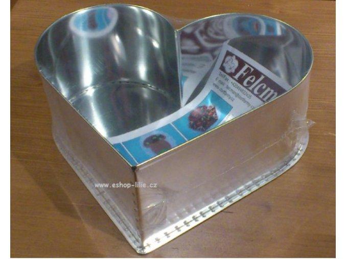 SRDCE 24 cm střední forma na dort