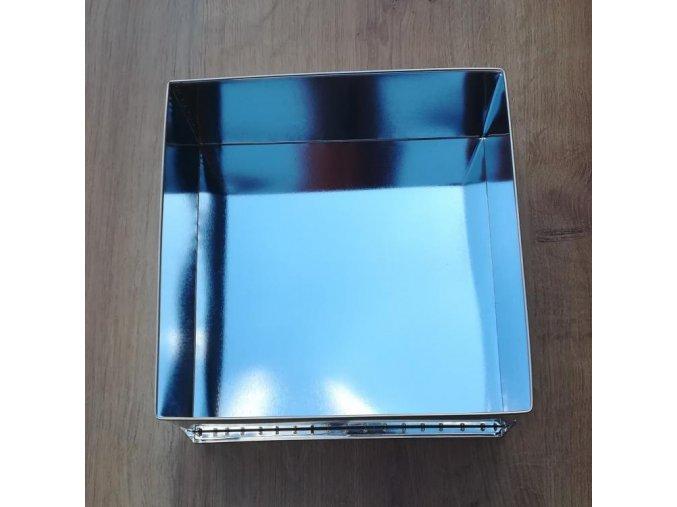 ČTVEREC střední 25cm dortová forma