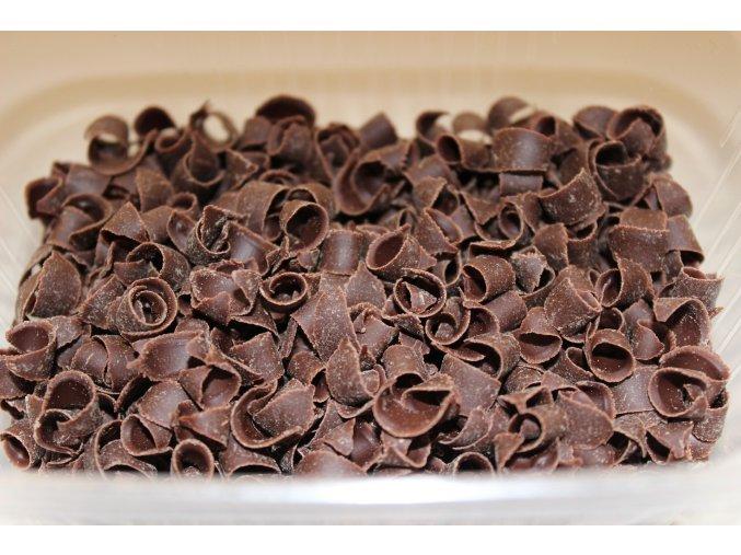 Tmavá čokoládová kudrna D41130