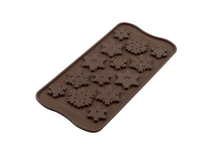 Frozen silikonová forma na čokoládu SCG40