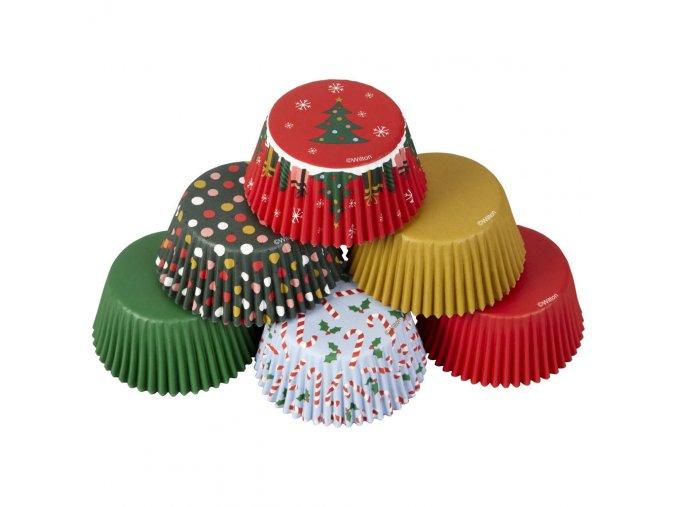 Vánoční cukrářské košíčky 150ks Wilton 415-7666