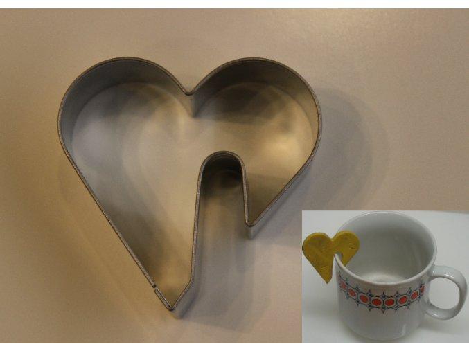 srdce na hrnek
