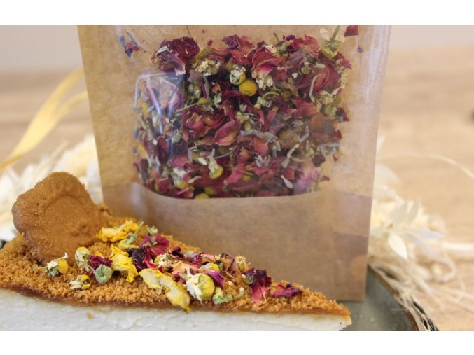 Jedlé květy dekorace na dorty 10g