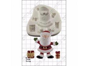 Santa a dárky silikonová forma D028