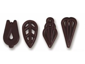 VICTORY čokoládové filigrány 15ks D91208