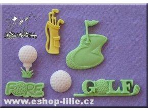 Golf AM0003 - silikonová forma