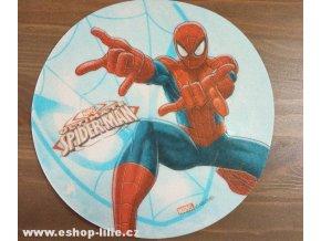 Spiderman jedlý papír na dort 41047B