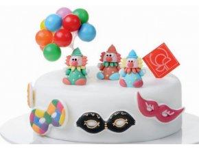 Balonky dortová dekorace k zapíchnutí