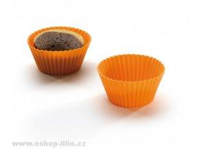 Silikonové formy na muffiny 6ks 111595