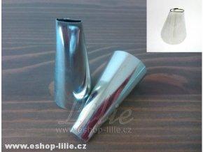 Cukrářská zdobící špička plochá 0,9cm (5063)
