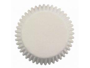 BÍLÉ malé cukrářské košíčky 100ks BC713