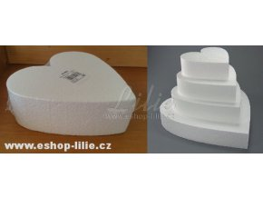Atrapa dortu (maketa) srdce 30cm (901629)