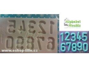 Číslice AM0179 silikonová forma na cukrářské hmoty