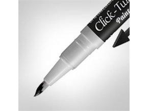 ČERNÉ pero Click Twist Brush RD7110