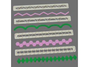 Geometrické tvary v liště FMM CUTFRL5