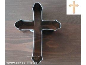 Kříž - nerez vykrajovátko 200357