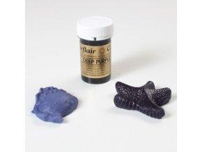 TMAVĚ FIALOVÁ-NACHOVÁ Deep Purple gelová barva