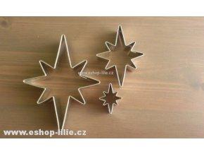 Sada tří hvězdiček na perníky