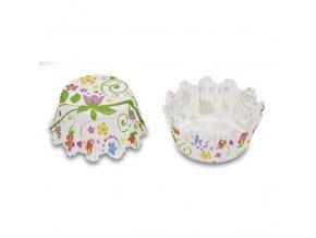 Cukrářské košíčky květinové 100kusů 335745